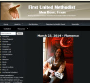 First United Methodist Concert Series in Glen Rose, TX