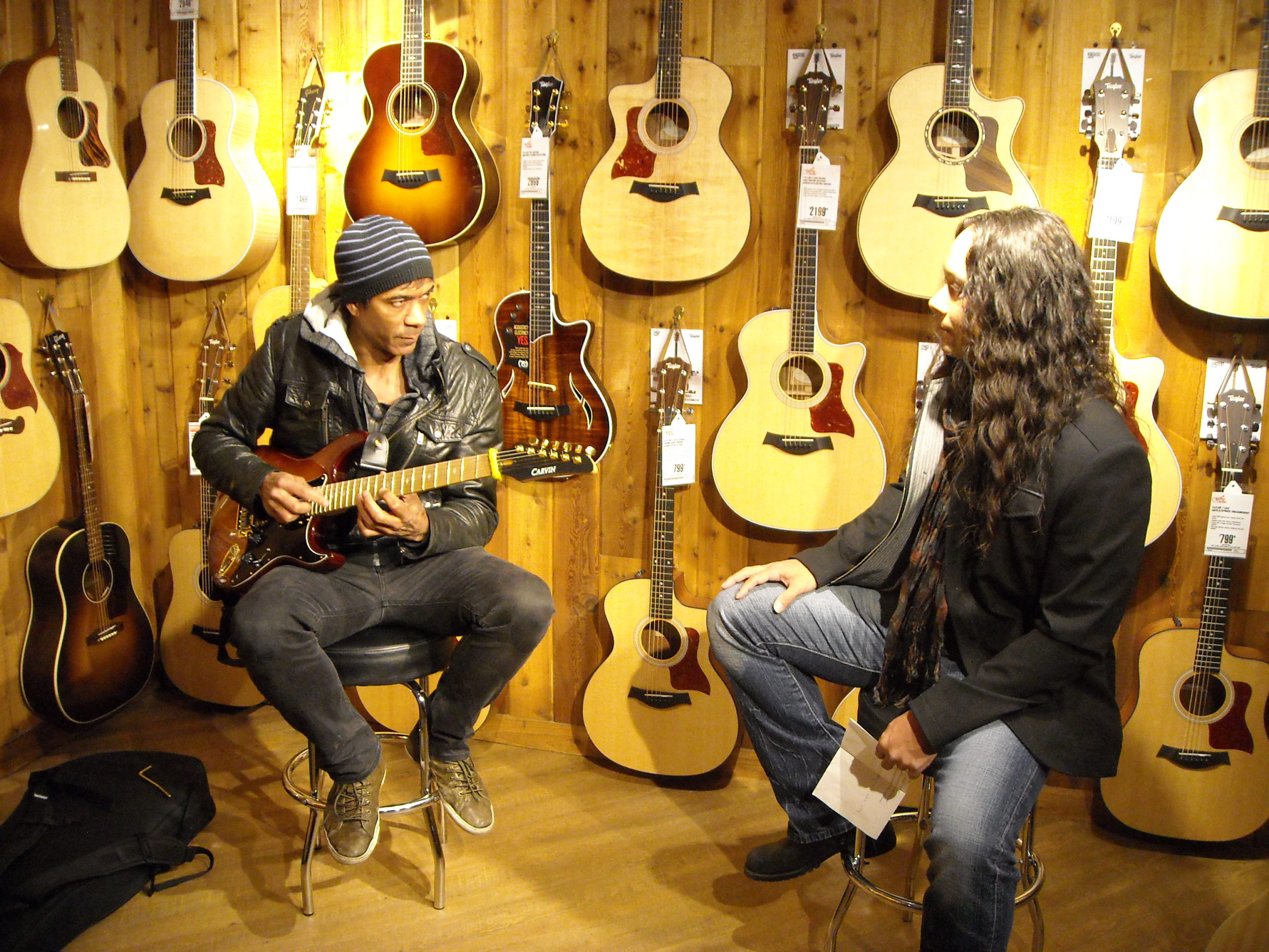 Interviewing Greg Howe