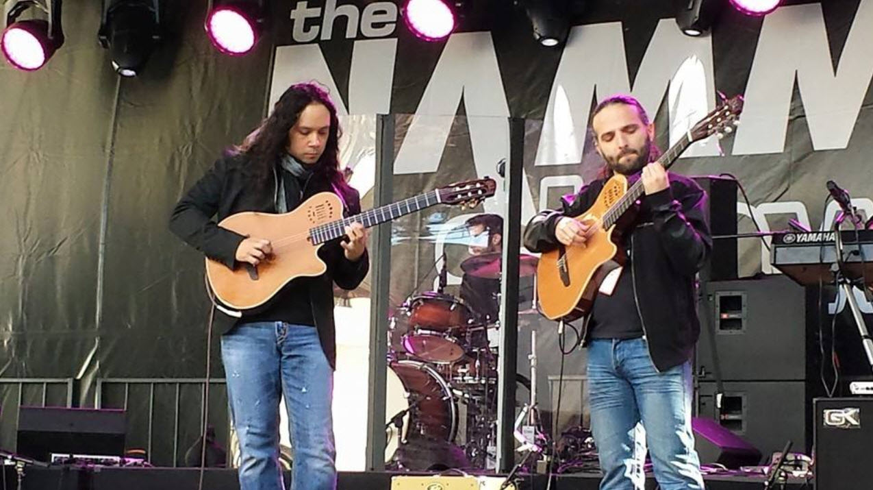 Performing on the NAMM GoPro Mainstage
