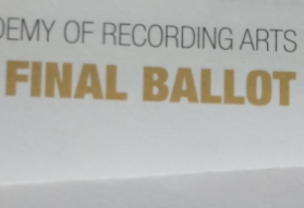 Final Ballot for the 59th GRAMMYs