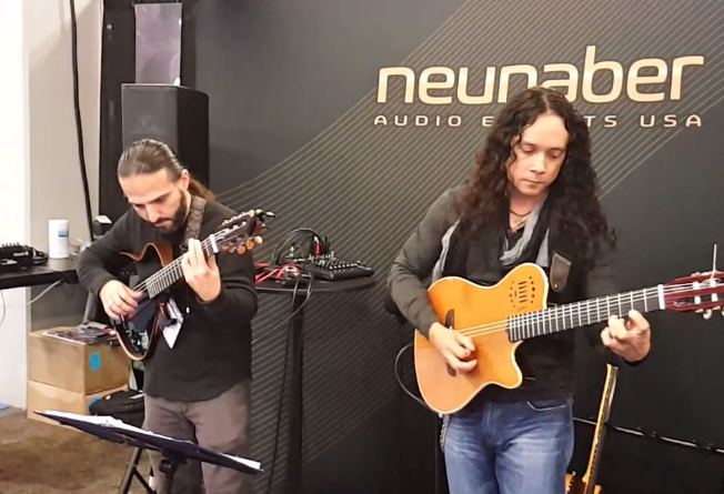 Short live clip from NAMM '17
