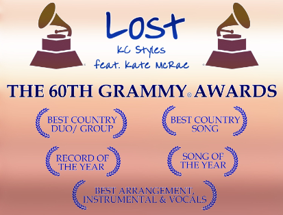 60th Grammy Awards ballot/Voting